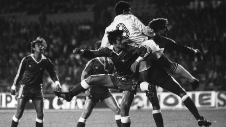Santillana dinamitó la eliminatoria en la 1985-86 con sus tres goles en el Bernabéu.