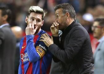 Luis Enrique no habla más del tema ''renovación'' de Messi