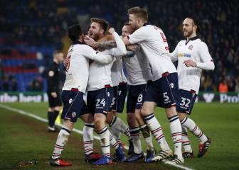 El Burnley y el Crystal Palace, rival del City, siguen en la Copa