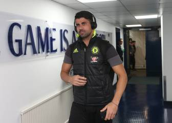 Conte deja entrenarse a Costa tras pagar 215.000 € de multa