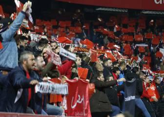 LaLiga denuncia 11 cánticos ofensivos en el Pizjuán