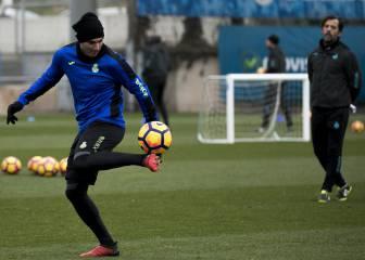 Reyes prueba en la mediapunta para la visita del Granada