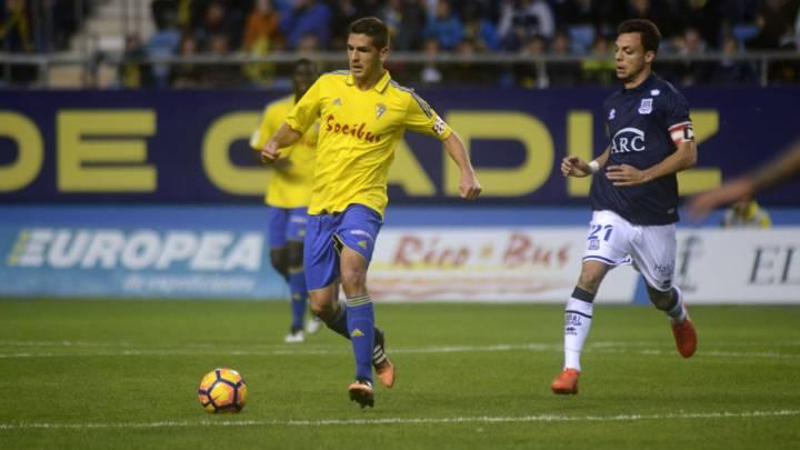 Garrido, jugador del Cádiz
