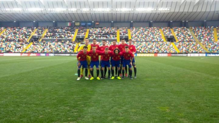 Aleñá firma la victoria por la mínima de la Sub-19 ante Italia