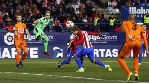 Atlético de Madrid-Eibar en imágenes