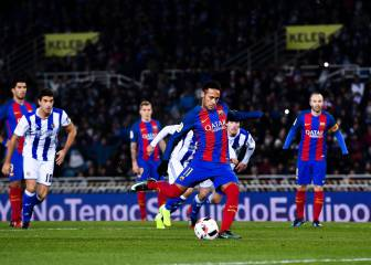 Barça end Anoeta hoodoo