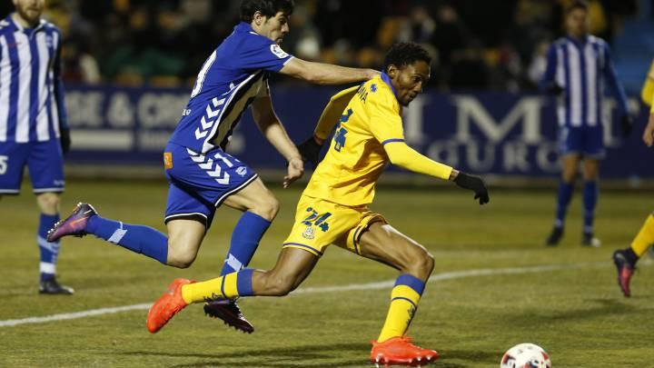 Owona debutó contra el Alavés.