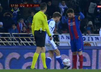 La Real pidió la roja para Messi