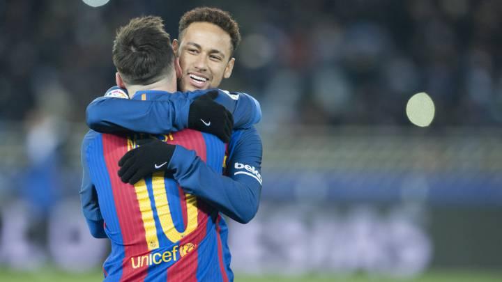 1x1 del Barcelona: \