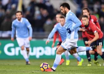 Lazio y Cesena se meten en los cuartos de la Copa italiana