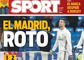 La prensa de Barcelona se recrea con la derrota del Madrid