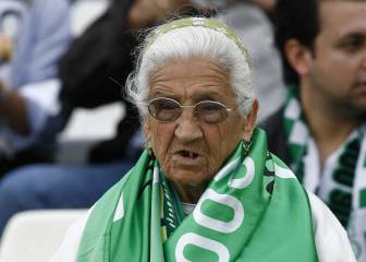 Spanish football mourns the passing of Betis' 'Grandma'