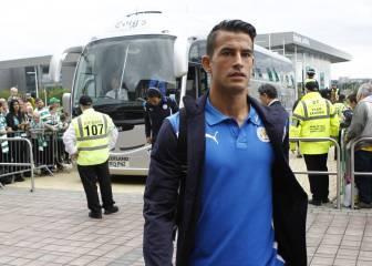El Málaga pacta con el Leicester el fichaje de Luis Hernández
