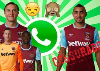 Un español del West Ham borra del grupo de WhatsApp a Payet