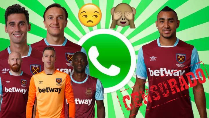 La plantilla del West Ham ha vetado a Payet en el grupo de WhatsApp.
