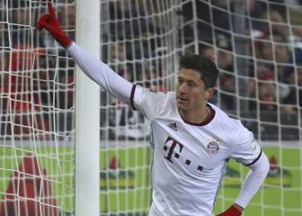 Superhéroe Lewandowski