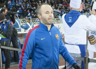 """La lesión de Iniesta no es grave: """"pequeña rotura"""" en el sóleo"""
