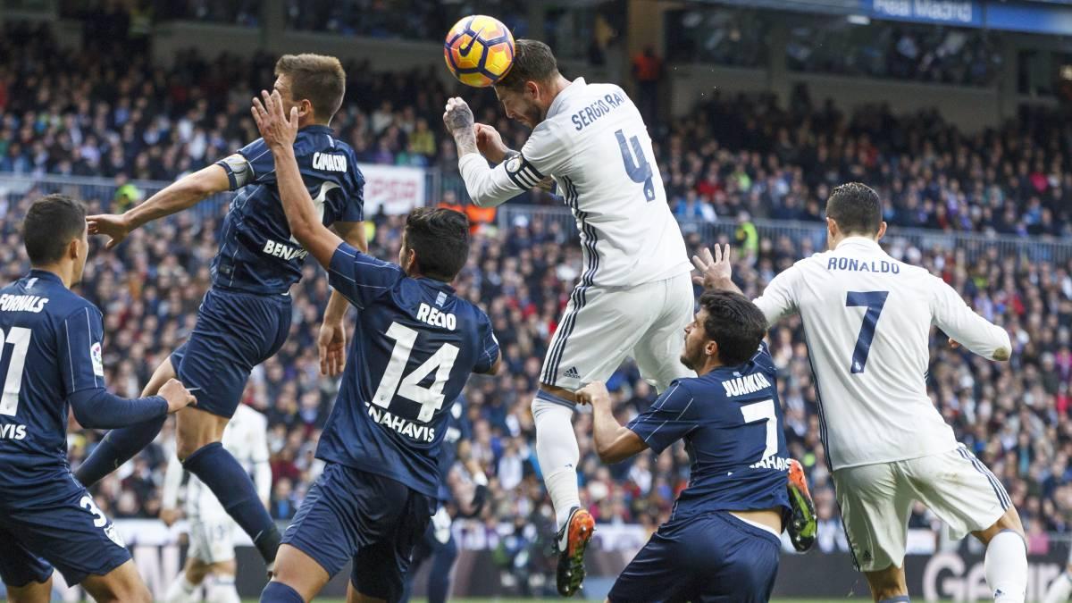 Todos los goles del Real Madrid-Málaga en imágenes