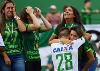 Emotiva vuelta del Chapecoense al fútbol