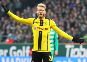 El Hoffenheim sigue invicto y el Dortmund se impone al Werder
