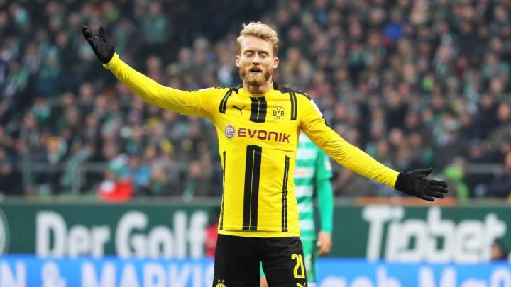El Hoffenheim sigue invicto y el Dortmund se impone al Bremen
