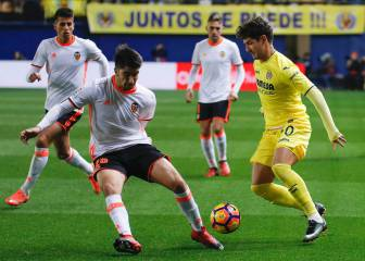 Soler y Santi Mina tumban al Villarreal y dan alas al Valencia