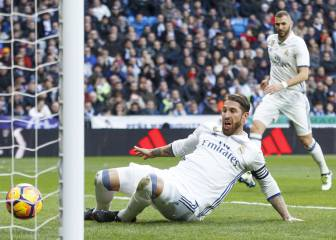A falta de Cristiano, Ramos