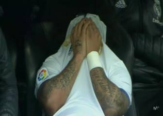 Alarma: se rompió Marcelo y Modric se fue con molestias