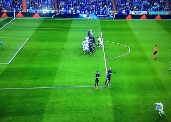 Sergio Ramos estaba en fuera de juego en el segundo gol