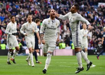 Ramos ya ha marcado más que Bale en esta temporada