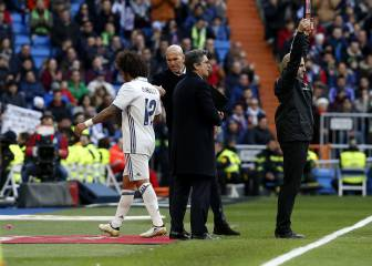 Las alternativas de Zidane en defensa para la 'final' de Vigo