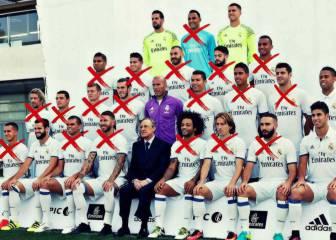 El calvario de Zidane: 26 lesiones de 19 jugadores