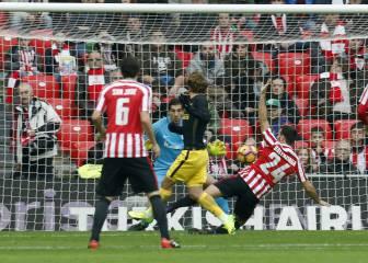 Todos los goles del Athletic Club-Atlético de Madrid en imágenes