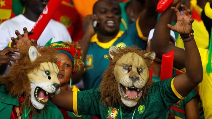 Todo o nada de la Gabón de Camacho contra Camerún