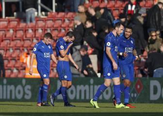 El Leicester, rival del Sevilla, se estrelló ante el Southampton