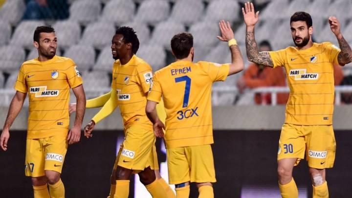 Barral se estrena con el APOEL en la goleada ante el Zakakiou