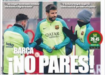Un mensaje en la prensa catalana: