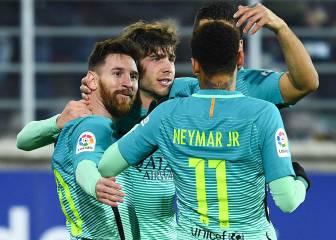 Messi lidera la toma del norte