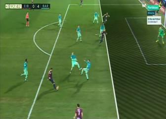 El Eibar protestó el gol anulado a Adrián González, de cabeza