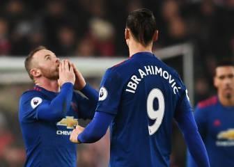 Zlatan dispara contra los críticos de Wayne Rooney