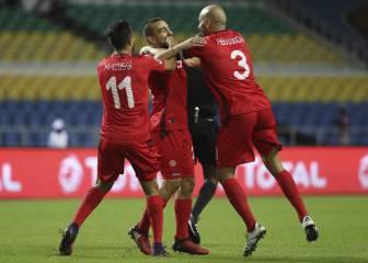 Túnez pasa a cuartos de forma contundente con una goleada