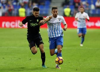 Jony: de 'titular' en el Sporting a no encajar en el Málaga