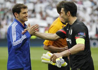 Buffon a Casillas: