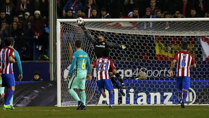 برشلونة يسعى لتحقيق إنجاز جديد ضمن بطولة الكأس أمام اتلتيكو مدريد