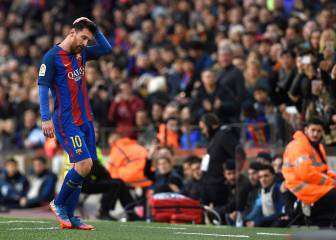 Luis Enrique gives Messi his first rest of 2017