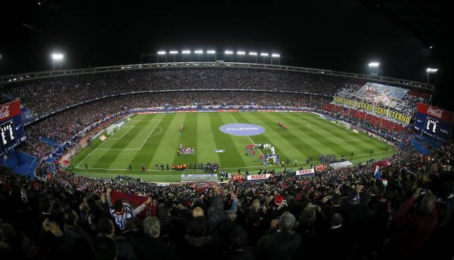 Estadio Vicente Calderón (Atlético de Madrid).