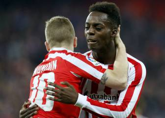 Iñaki Williams recupera la chispa, pero no el gol
