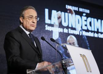 Stadium works will prevent Bernabéu Cup final, confirms Florentino Perez
