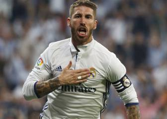 Sergio Ramos plays 500th Real Madrid match in Pamplona