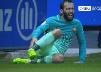 Vidal suffers horrific ankle injury in Barça win over Alavés